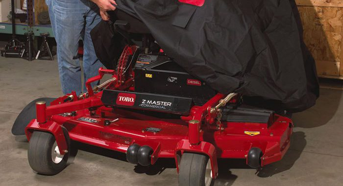 storing your mower