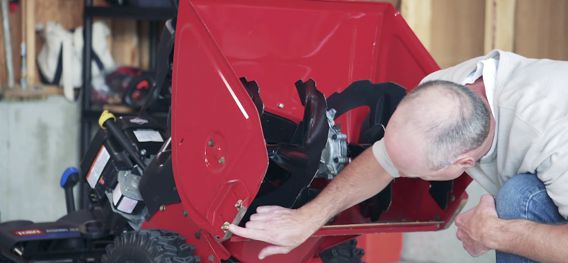 End of Snow Season Snowblower Tips