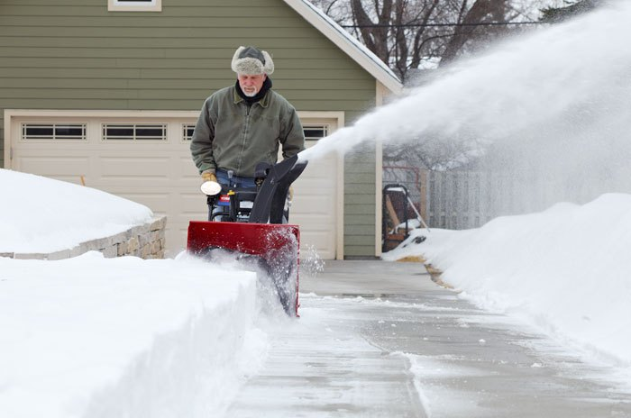 How To Snowblow Your Driveway With Ease
