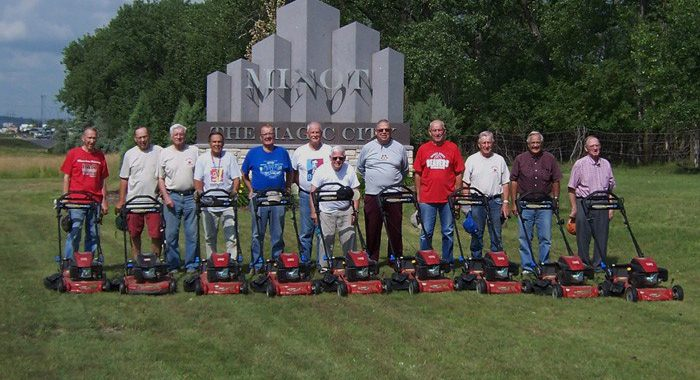 Toro Helps Clean Up a Community with Toro lawn mowers