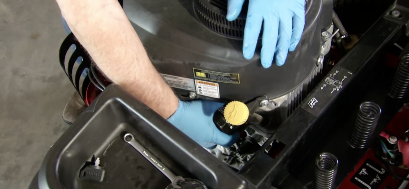 How to Change Lawn Mower Oil & Oil Filters - Toro TimeCutter