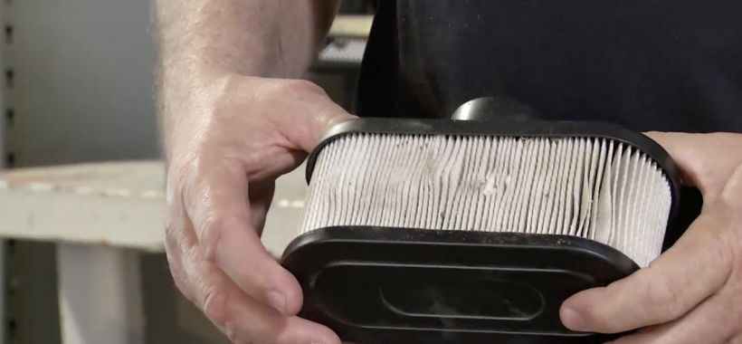 How to Change a Lawn Mower Air Filter - Toro TimeCutter