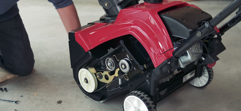 Replace the Drive Belt on Single-Stage Snowblower
